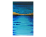 OCEAN BLUES – 40″ X 60″- GALLERY WRAPPED