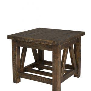 Alfresco Side Table – Smokey Brown