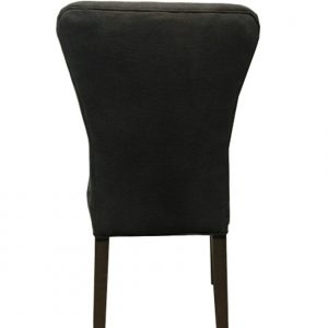 Alexis Dining Chair – Charcoal Linen (2/box)