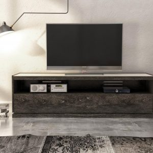 CLOE Square coffee table with laquered glass top