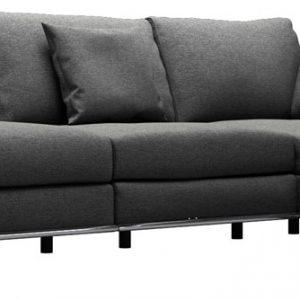 Perry 2 Arm Corner Sofa w Ottoman