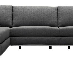 Perry 2 Arm Large Corner Sofa w Ottoman
