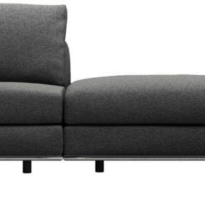 Perry 1 Arm Corner Sofa w 2 Ottomans